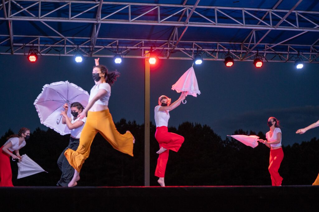 Panoramic Dance Project Drive Up Concert